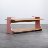 Tavolino da Caffé Rettangolae in MDF (134x60 cm) Tika, immagine in miniatura 1