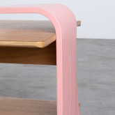 Tavolino da Caffé Rettangolae in MDF (134x60 cm) Tika, immagine in miniatura 5