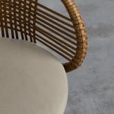 Sedia da Esterni in Rattan Auxis, immagine in miniatura 4