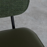 Poltrona in Similpelle e Tessuto Lala, immagine in miniatura 8