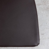 Cuscino Quadrato in Similpelle per Sedia Industrial, immagine in miniatura 5
