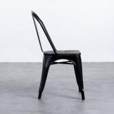 Silla Industrial - Verniciatura a polvere nera, immagine in miniatura 2