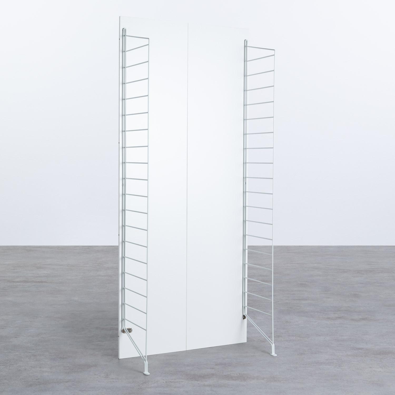 Struttura Alta a 2 lati - Scaffale modulare Omar, immagine della galleria 1