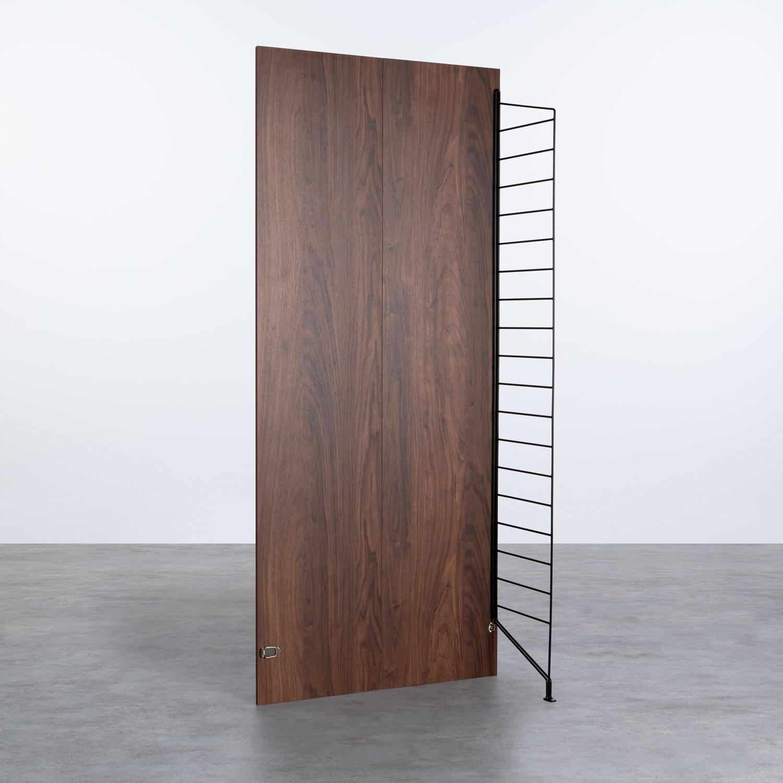 Struttura Alta a 1 lato - Scaffale modulare Omar, immagine della galleria 1