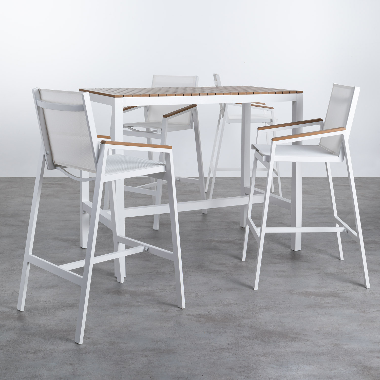 Set da Esterni in Alluminio Korce, immagine della galleria 1