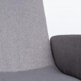 Sedia da Ufficio Regolabile con Ruote Wall, immagine in miniatura 7