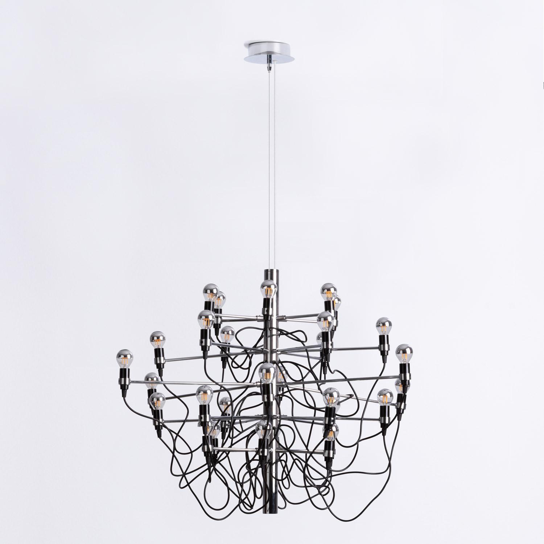 Lampada da Soffitto in Acciaio Salone 30, immagine della galleria 1