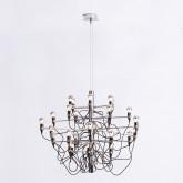 Lampada da Soffitto in Acciaio Salone 30, immagine in miniatura 2