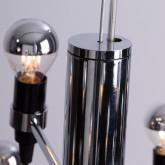 Lampada da Soffitto in Acciaio Salone 30, immagine in miniatura 3