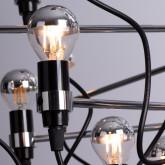 Lampada da Soffitto in Acciaio Salone 30, immagine in miniatura 4