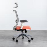 Sedia da Ufficio Ergonomica con Poggiatesta Rancel, immagine in miniatura 4