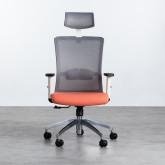 Sedia da Ufficio Ergonomica con Poggiatesta Rancel, immagine in miniatura 6