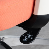 Sedia da Ufficio Ergonomica con Poggiatesta Rancel, immagine in miniatura 7