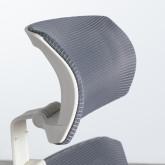 Sedia da Ufficio Ergonomica con Poggiatesta Rancel, immagine in miniatura 9