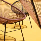 Sedia da Esterni in PVC e Acciaio Copacabana Soft, immagine in miniatura 2