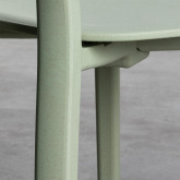 Sedia da Esterni in Polipropilene Dasi Lisa, immagine in miniatura 5