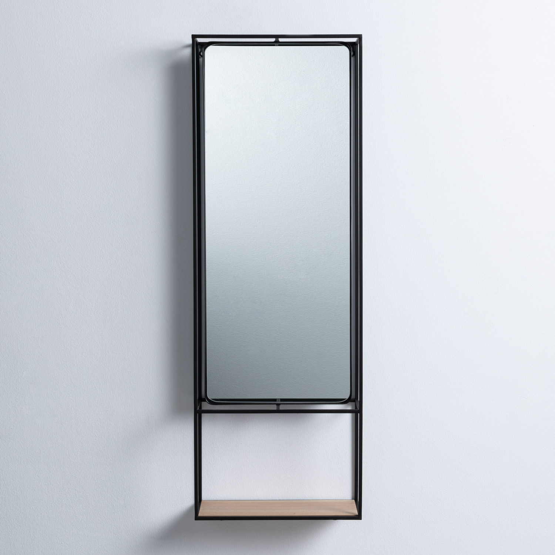 Specchio da Parete Rettangolare in Metallo (115 x 40 cm) Stella, immagine della galleria 1