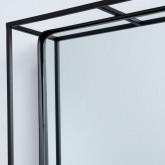 Specchio da Parete Rettangolare in Metallo (115 x 40 cm) Stella, immagine in miniatura 4