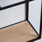 Specchio da Parete Rettangolare in Metallo (115 x 40 cm) Stella, immagine in miniatura 5