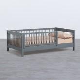 Letto per Bambini in Legno Odam per materasso 110 cm, immagine in miniatura 1