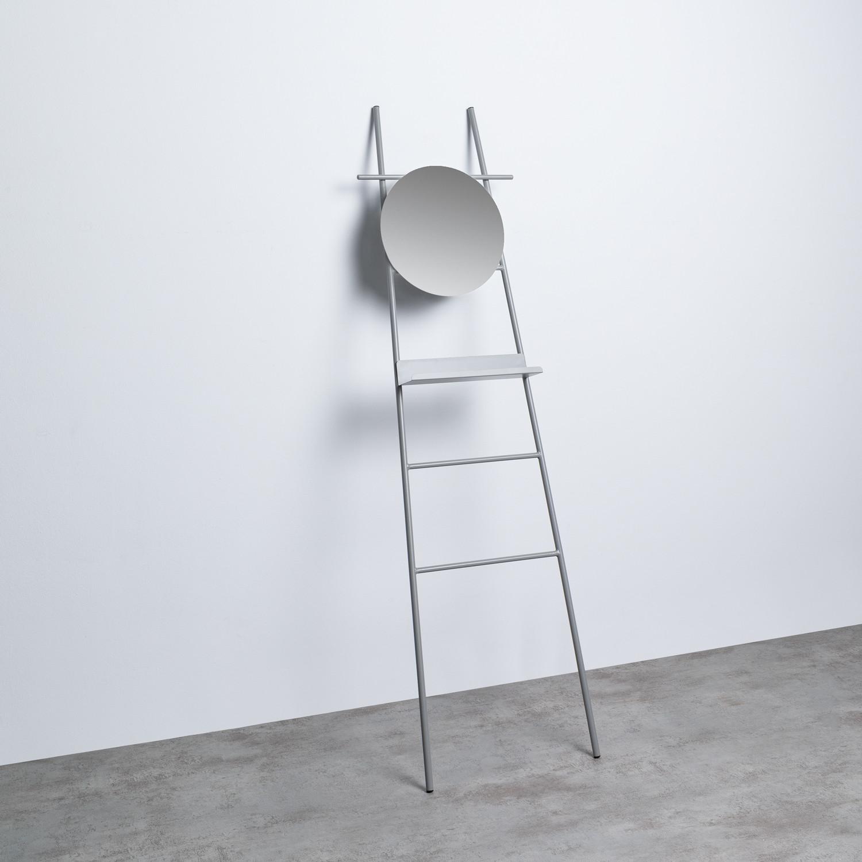 Scaletta Decorativa con Specchio in Metallo (161 cm) Neo, immagine della galleria 1