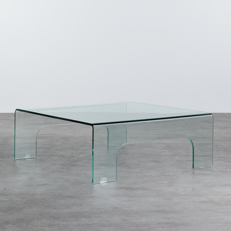 Tavolino da Caffé Quadrato in Vetro (90x90 cm) Planil, immagine della galleria 1