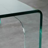 Tavolino da Caffé Quadrato in Vetro (90x90 cm) Planil, immagine in miniatura 5