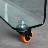 Tavolino da Caffé Quadrato in Vetro (100x100 cm) Rolcris, immagine in miniatura 6