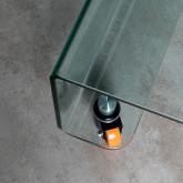 Tavolino da Caffé Quadrato in Vetro (100x100 cm) Rolcris, immagine in miniatura 7