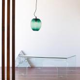 Tavolino da Caffé Quadrato in Vetro (90x90 cm) Planil, immagine in miniatura 2
