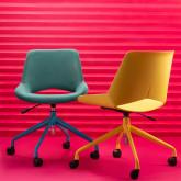 Sedia da Ufficio Regolabile con Ruote Silas, immagine in miniatura 2