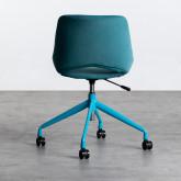 Sedia da Ufficio Regolabile con Ruote Silas, immagine in miniatura 5