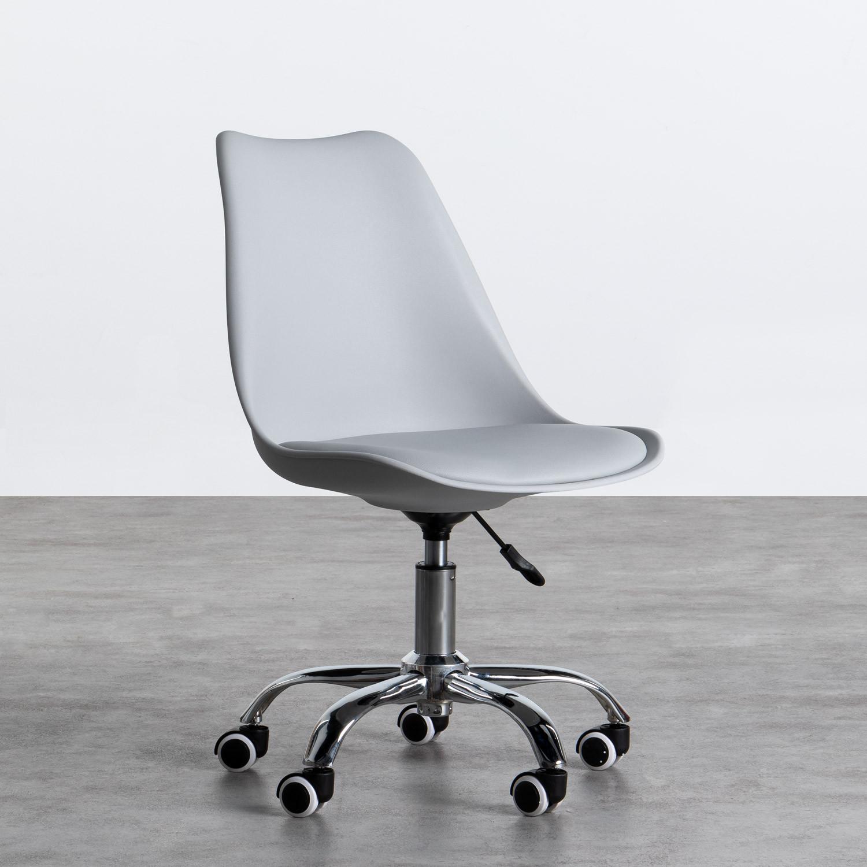 Sedia da Ufficio Regolabile con Ruote Freya Scriva, immagine della galleria 1