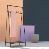 Pouf Rotondo in Tessuto Runor, immagine in miniatura 2