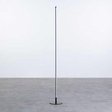 Lampada da terra LED in alluminio Eymar