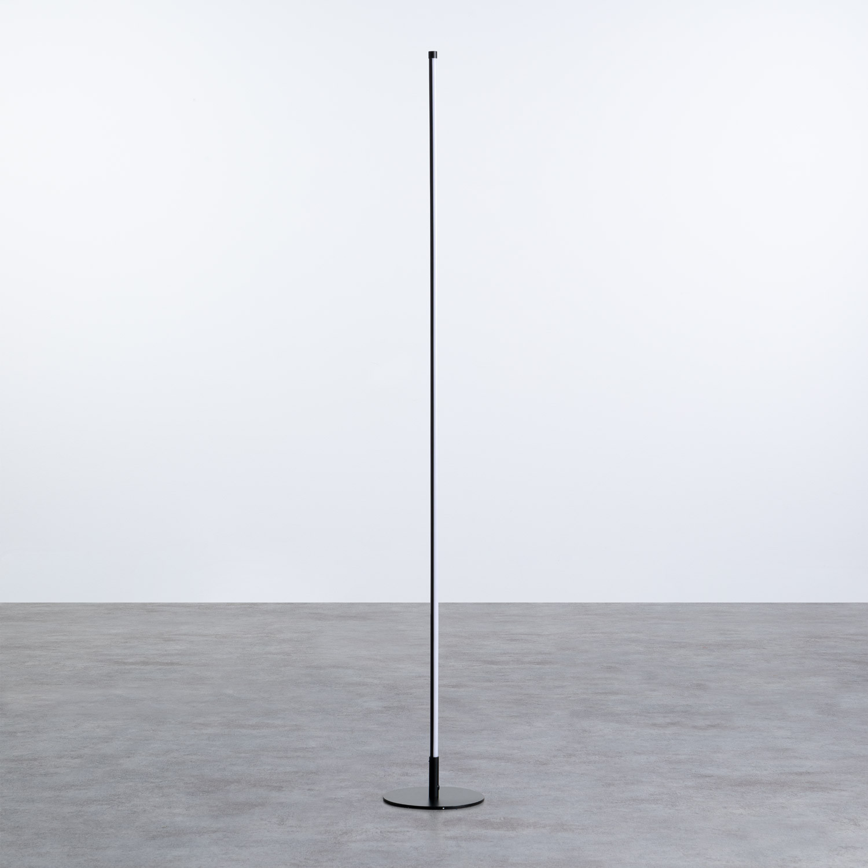 Lampada da terra LED in alluminio Eymar, immagine della galleria 1