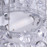 Lampada da Soffitto in Policarbonato e Acciaio Shine 35, immagine in miniatura 4