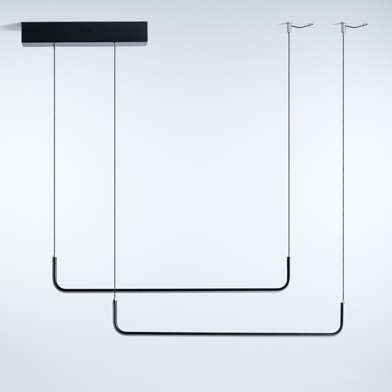 Lampada da Soffitto LED in Alluminio Nadim, immagine della galleria 1