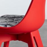 Sedia da Pranzo in Polipropilene Verno Imbottita , immagine in miniatura 6