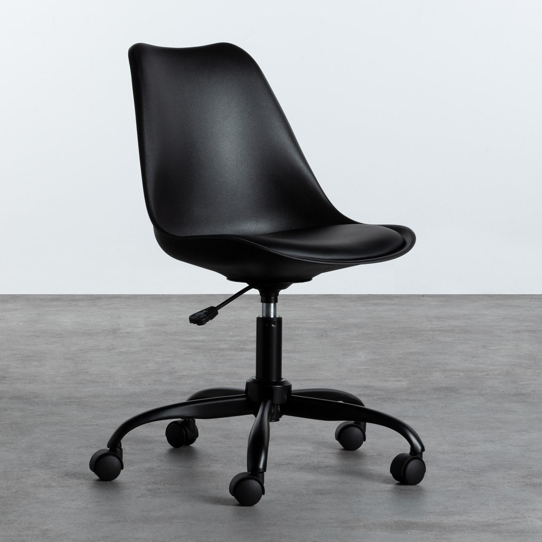 Sedia da Ufficio Regolabile con Ruote Futur, immagine della galleria 1