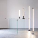 Lampada da Tavolo LED in Alluminio Aymar, immagine in miniatura 2