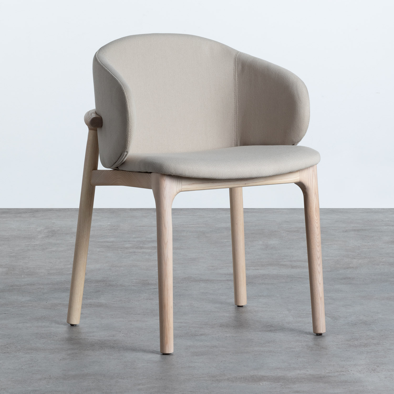 Sedia in Tessuto e Legno Wisi, immagine della galleria 1