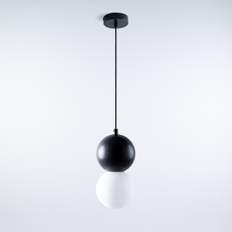 Lampada da soffitto LED in Vetro Tasha, immagine della galleria 1