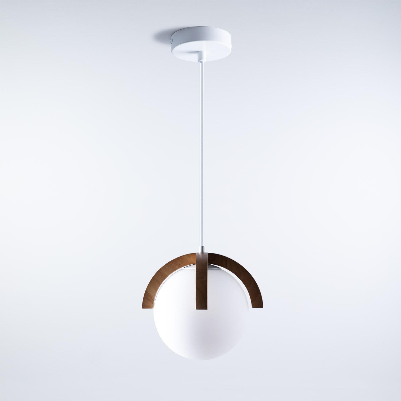 Lampada da soffitto in legno Irisa, immagine della galleria 1