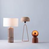 Lampada da Tavolo in Metallo Cham, immagine in miniatura 2