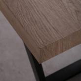 Tavolo da Pranzo Rettangolare in MDF (190x90 cm) Valle, immagine in miniatura 7