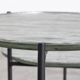Tavolo Ausiliario in Vetro (Ø39 cm)  Karen, immagine in miniatura 6