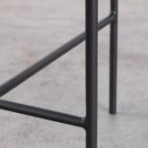 Tavolo Ausiliario in Vetro (Ø39 cm)  Karen, immagine in miniatura 7