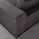 Divano Chaise longue a Destra e Divano 3 posti in Tessuto Temam, immagine in miniatura 8