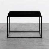 Tavolo Ausiliario Quadrato in Metallo (59x59 cm) Cubo, immagine in miniatura 3